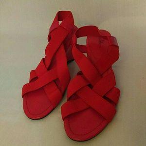 Ammy wedged sandals